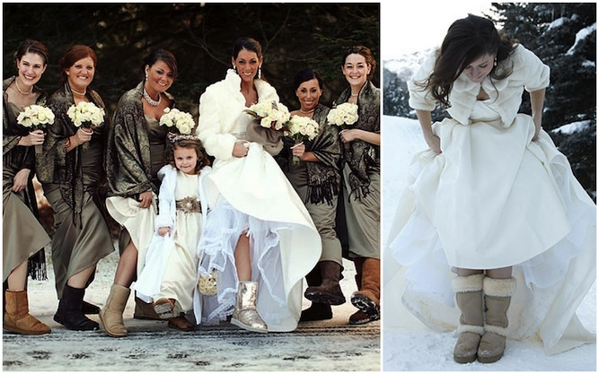 brides-in-UGG-boots-at-winter-weddings