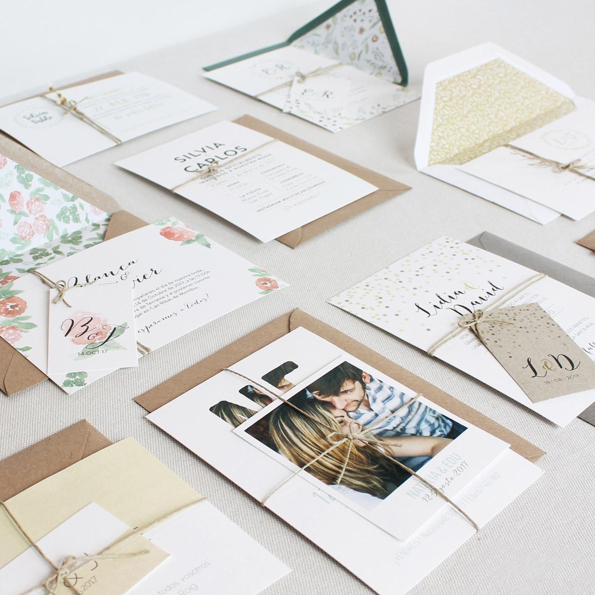 invitaciones de boda ideales