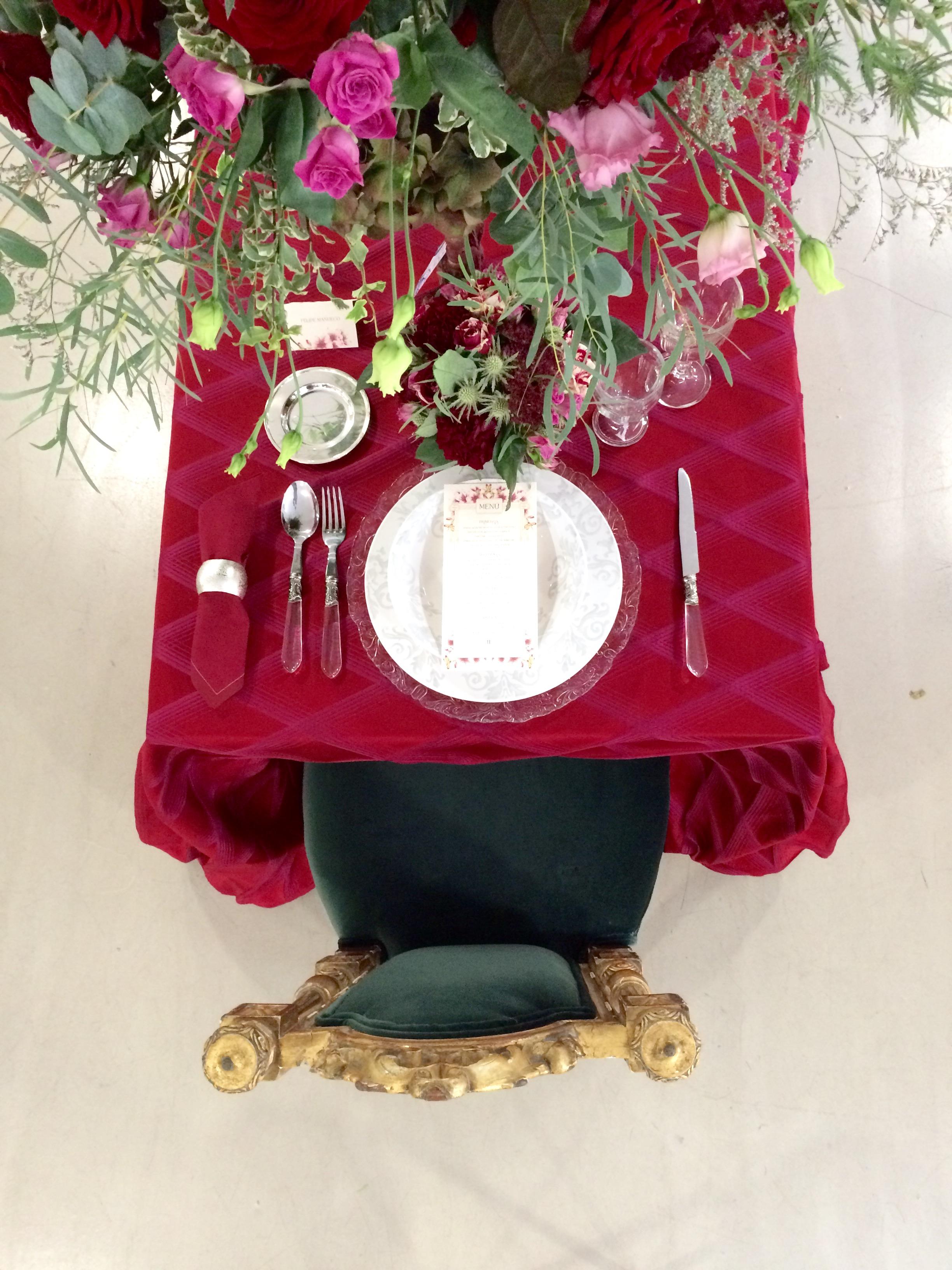 Mesa boda palacio