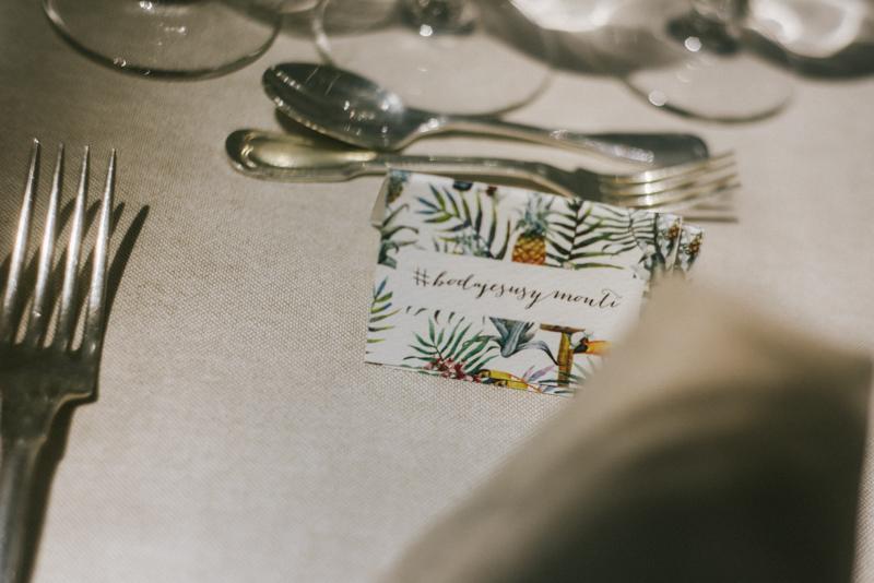 Organización banquete de boda