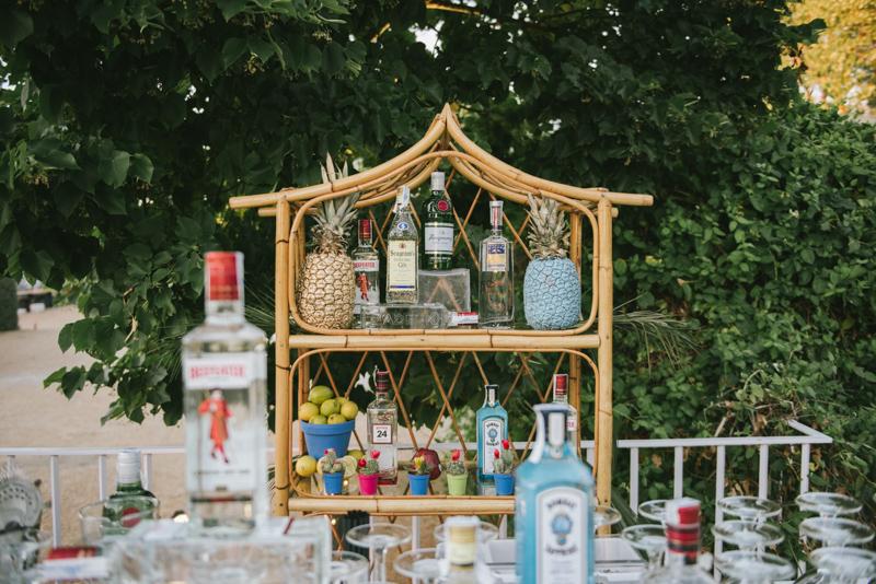 Decoración exteriores en bodas