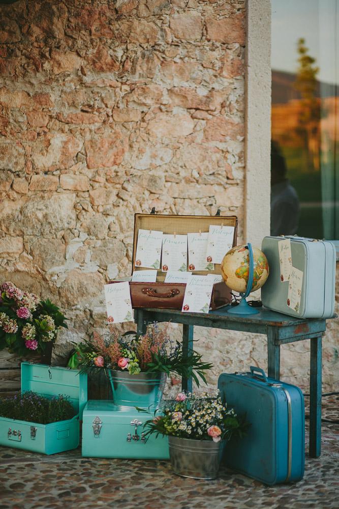 Decoraciones exteriores para bodas